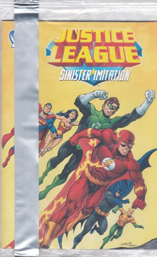 free nip justice league sinister imitation comic book