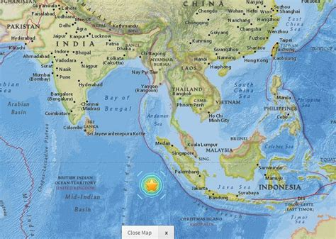 earthquake map indonesia image gallery earthquake indonesia 2016