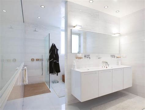 white modern bathroom go white for simple and modern bathroom inspiration and