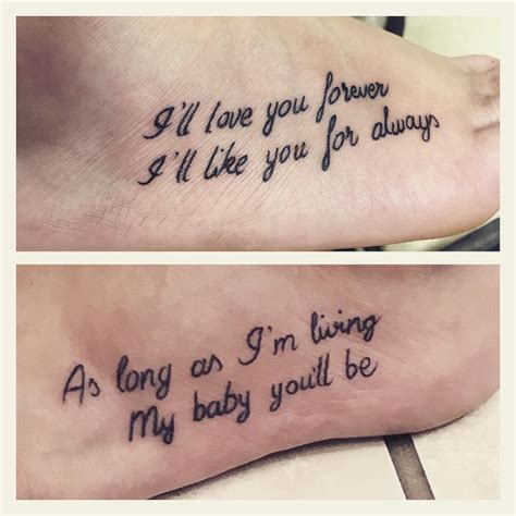 born private meaning 90 sweet matching mother daughter tattoo designs