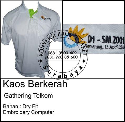 Vendor Produksi Kemeja Seragam Polo Kaos Jaket Topi Kaos Event desain poloshirt keren model kaos polo konveksi kaos