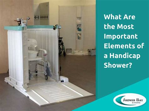 Portable Handicap Shower by Enjoying The Benefits Of Safely Showering Without Remodeling
