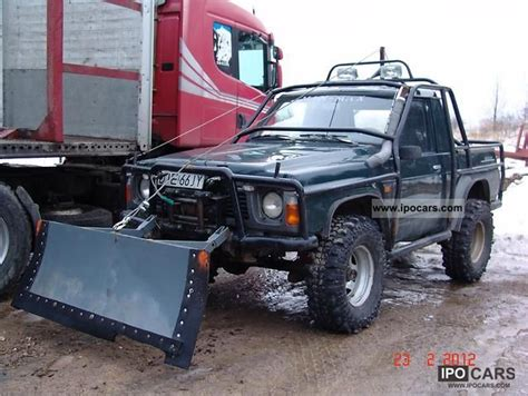 nissan patrol 1990 off road off road vehicle pickup truck vehicles with pictures page