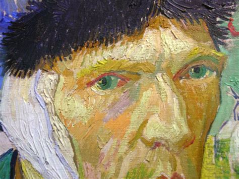 van gogh ear surface fragments ghost artists