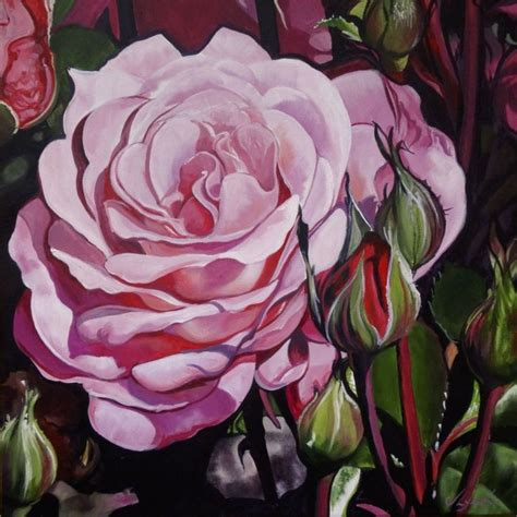 acrylic painting roses 17 best images about paintings of roses on