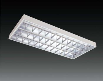Lu Led Grill luminaires t5 led recessed ceiling grid light troffer led
