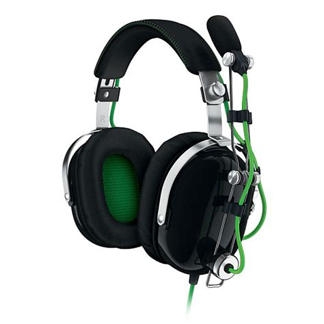 Headphone Gaming Razer razer blackshark expert 2 0 gaming headset thinkgeek