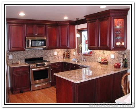 red cherry kitchen cabinets cabinets colors kitchen paint colors with cherry