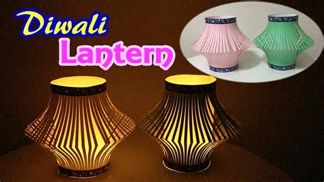 How To Make A Diwali L With Paper - how to make diwali lantern with paper easy diwali
