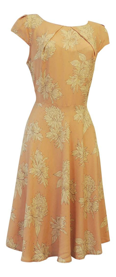 pattern for vintage tea dress new vintage nostalgia 1930 s 1940 s ww2 style wartime