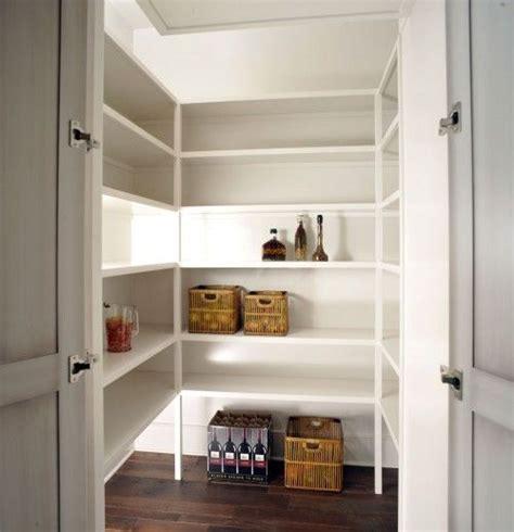 dark pantry floors white shelves   shelf