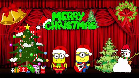 minions song     merry christmas  minions animations youtube