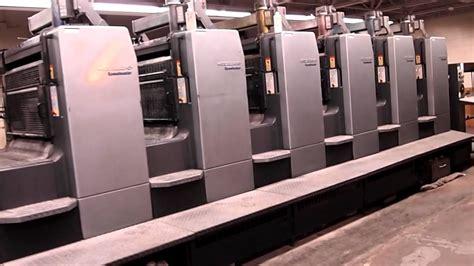 Heidelberg 8 Color Sheet Fed Printing Press Machine