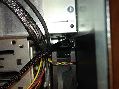 power supply fan replacement replace noisy power supply fan in hp proliant gen7