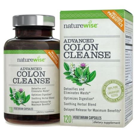 Clear Detox Digestive Health by Advanced Detox Cleanse With Digestive Enzymes For Colon