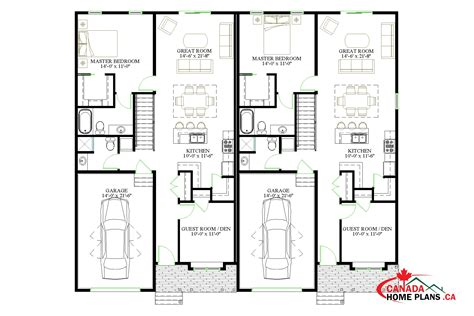 Sackville Canada Home Plans Duplex House Plans In Canada