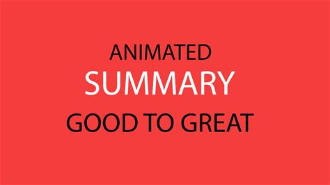 to great summary aniamted summary to great by collins