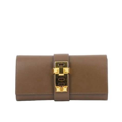 Hermes Medor Clutch Review by Hermes Medor Clutch Box Calf 29 At 1stdibs