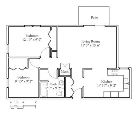 Garden Apartments 2 Bedroom 1 Bath 875sqft Meadowlark Hills Continuing Care Retirement | garden apartments 2 bedroom 1 bath 875sqft
