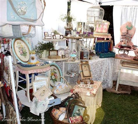 craft booth display idea shabby chic flea market booth set up pinterest crafts