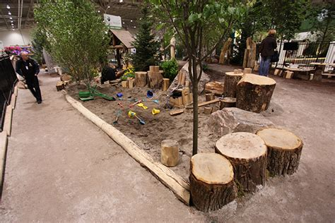 natural playground ideas backyard landscape trend mixes exercise and play eieihome