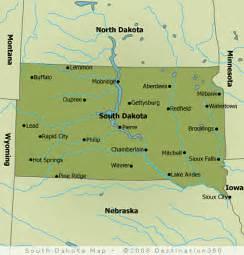 us map south dakota black south dakota black national forest
