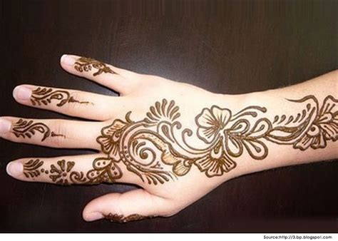 top 18 latest arabic mehndi designs for hands 2014