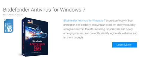 best windows 7 antivirus software of 2017 top ten reviews