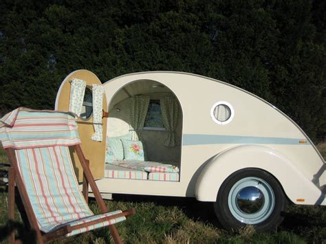 Retro Teardrop Camper For Sale by The English Caravan Company Out Of The Birdcage