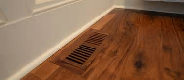 custom vents to match any of our floors elmwood reclaimed timber