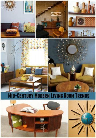 atomic home decor mid century home d 233 cor trends modern living rooms