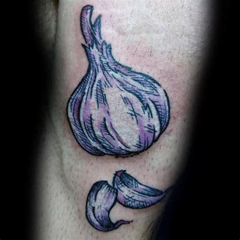 garlic tattoo 60 garlic ideas for garnish designs