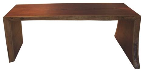 Modern Solid Wood Desk Contemporary Solid Wood Slab Desk Live Edge Contemporary Desks And Hutches Miami By