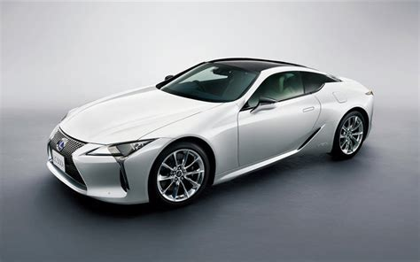 lexus sports car white wallpapers lexus lc 500h 2017 white sports car