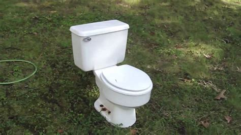 bathroom commodes backyard commode outside toilet youtube