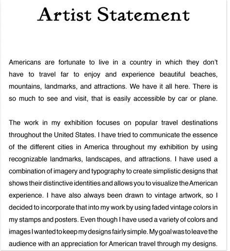 america the popular artist statement eryn logar