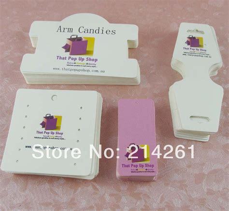 how to make custom earring cards aliexpress buy 4pcs set wholesale free shipping