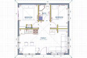 24x24 cottage plans 24x24 in western new mexico