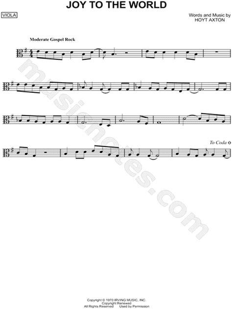 "Three Dog Night ""Joy To the World - Viola"" Sheet Music in"