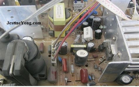 crt tv capacitor tobishi dead crt tv repaired electronics repair and technology news
