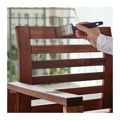 V 197 Rda Wood Stain Outdoor Use Brown Ikea Outdoor Wood Furniture Stain