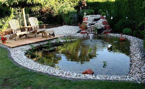 Kies Für Den Garten 48 by Unser Gartenteich Foto Bild Landschaft Bach Fluss