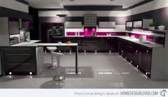 black gloss kitchen ideas 15 black and gray high gloss kitchen designs decoration for house