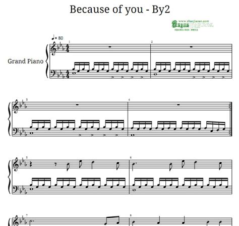tutorial piano because of you by2becauseofyou htm新消息评论 微博生活网