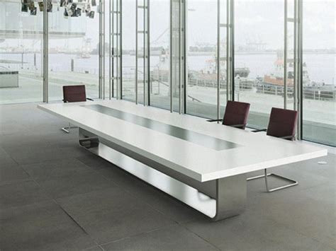 Boardroom Chairs For Sale Design Ideas Rectangular Meeting Table S8000 By Thonet Design Hadi Teherani Offices Furniture