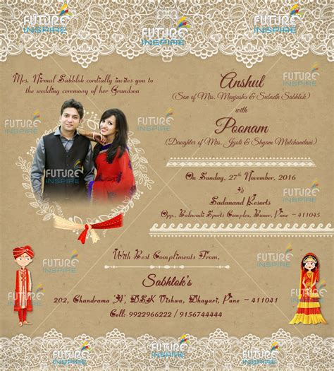 Whatsapp Wedding Invitation Card Template by Invitation Card Whatsapp Images Invitation Sle And