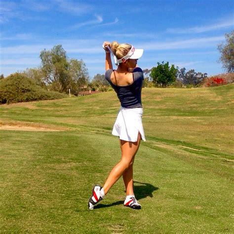 naked golf swing meet paige spiranac the hottest female golfer ever