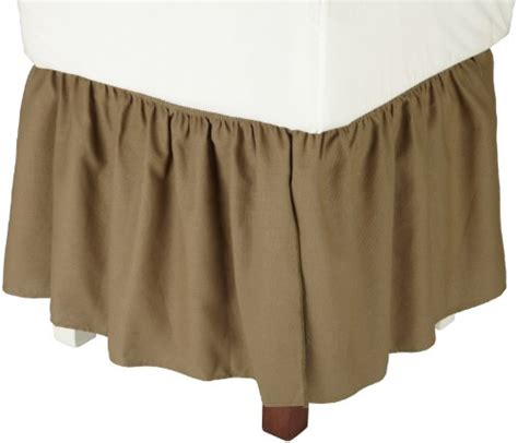 king size bed skirt bedskirts king buy new logan solid color 14 inch dust