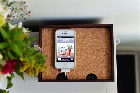 diy home charging station diy charging station box home decorating trends homedit