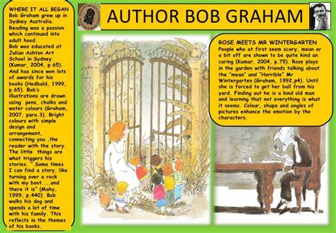 themes in rose meets mr wintergarten author bob graham